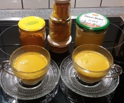 Kurkuma-Paste ~ Goldene Milch ~ Kurkuma-Latte ~ auch vegan