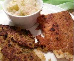 Schollen-Filet mit Pesto-Frischkäsekruste