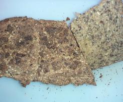 Dinkel-Buchweizen-Brot mit Hanf