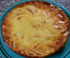 Apfelkuchen mit Joghurt