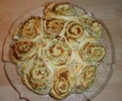 Herzhafter Rosettenkuchen