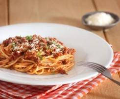 Spaghetti bolognese nach Jamie Oliver