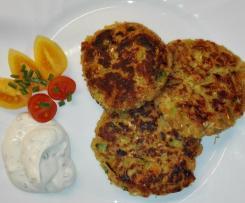 Gemüse - Lupinenbratlinge