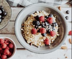 Porridge/Haferbrei Grundrezept (Vegan)