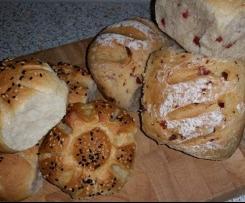 Brötchen - Kumpelkrüstchen mit oder ohne Mausespeck ... Auch für Zubereitung mit Lievito Madre