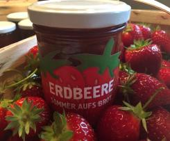 Sommer aufs Brot - Erdbeermarmelade
