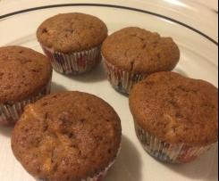 Apfel-Schoko-Muffins
