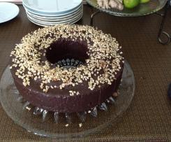 Schokoladiger Nusskuchen oder Muffins