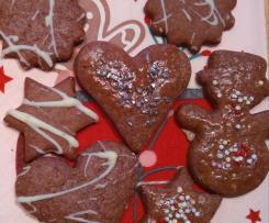 Variation Ausstecherle, Kekse zum Ausstechen, Weihnachtsplätzchen