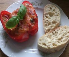 Paprikaschoten gefüllt (vegetarisch)