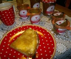 Variation von Winterliche Apfelkonfitüre mit Calvados und Zimt