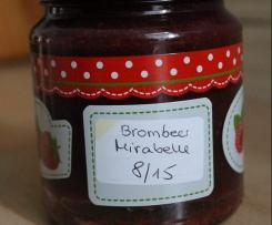 Mirabellen-Brombeer-Marmelade