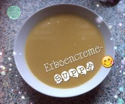 Erbsencremesuppe ( Rezept von Eatsmarter)