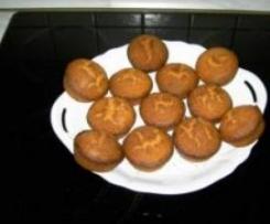 Mais-Muffins mit Schokolade (glutenfrei)