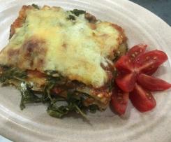 Lasagne Spinat-Fetakäse,einfach und lecker!