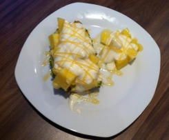 Ananas-Honig Dessert