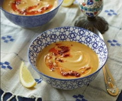 Rote-Linsen-Suppe (Mercimek Corbasi)