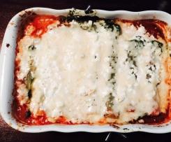 Spinat-Cannelloni mit Feta