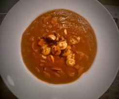 Tomaten - Ingwer - Orangen - Garnelen - Eintopf