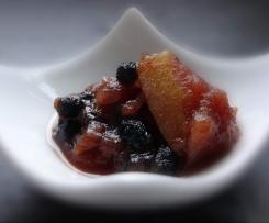 Apfel-Aronia-Chutney