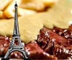 Sauce Café de Paris mit saftigen Rinder-Steaks