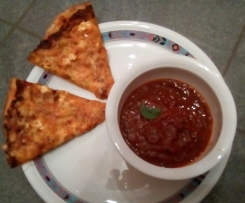 Pizzateig mit gefrorener Hefe