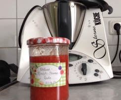 Erdbeer-Pfirsich-Marmelade
