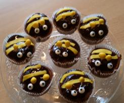 Schoko-Muffins / Biene Maja Muffins