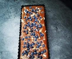 No Bake Chocolate Tarte