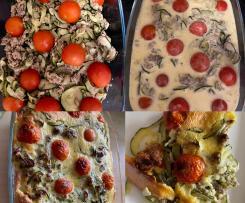 Zucchini-Clafoutis