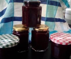 Früchte - Sinfonie aus Zwetschgen, Holunder und Apfel (Marmelade)