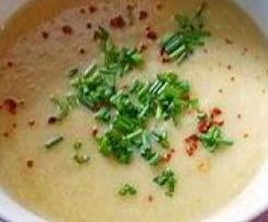 Knoblauch Feta Suppe