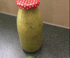 Variation Salatdressing Salatsoße auf Vorrat