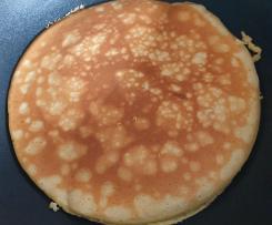 Low carb Pancakes mit Mandelmehl und Xucker