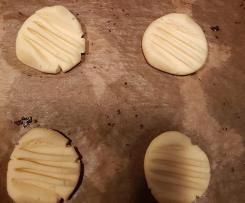 Pudding-Plätzchen Schoko oder Vanille