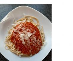 Grünkern-Sauce für Spaghetti