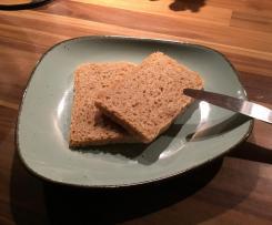 Toastbrot mit Weizenvollkornmehl