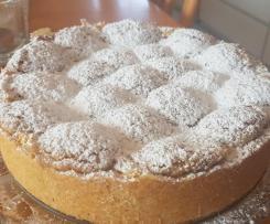 Apfelkuchen mit Knuspertopping