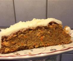 Karotten Kuchen Orginal carrot cake