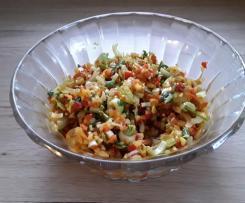 Sellerie-Mango Salat mit Paprika