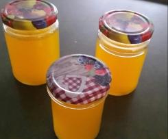Einfaches Orangengelee