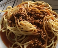Spaghetti Bolognese a la Oma Resi