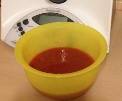 Rhabarber - Erdbeer- Sauce