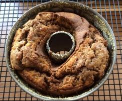 Marmorkuchen mit Xucker 1/2 Rezept für kleine Backform