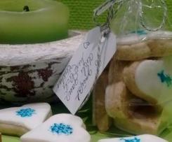 Stilvolle Stempel Kekse
