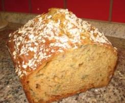 Schnelles Nuss-Joghurt-Brot