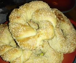 Sesamringe nach Original türkischem Rezept