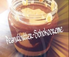 Peanutbutter - Schokocreme ~ Erdnussbutter - Schokoaufstrich