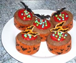 Variation von Rotweinkuchen vom Blech (Muffins)