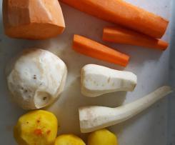 Gelbe Rüben Suppe